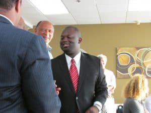 Montravias King, newly elected City Councilman in Elizabeth City NC