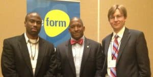 SCSJ's Daryl Atkinson, Jeremy Collins, and Ian Mance at the Reform Conference