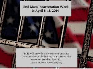 SCSJ honors End Mass Incarceration Week-2