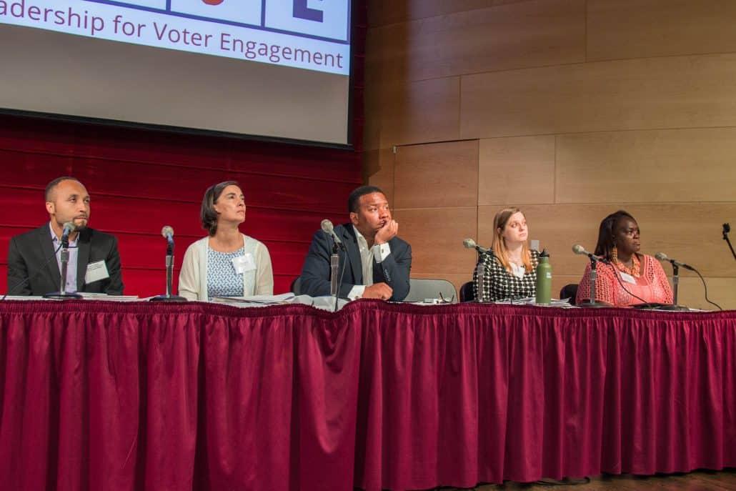 SCSJ Executive Director Anita Earls speaking about North Carolina voting landscape